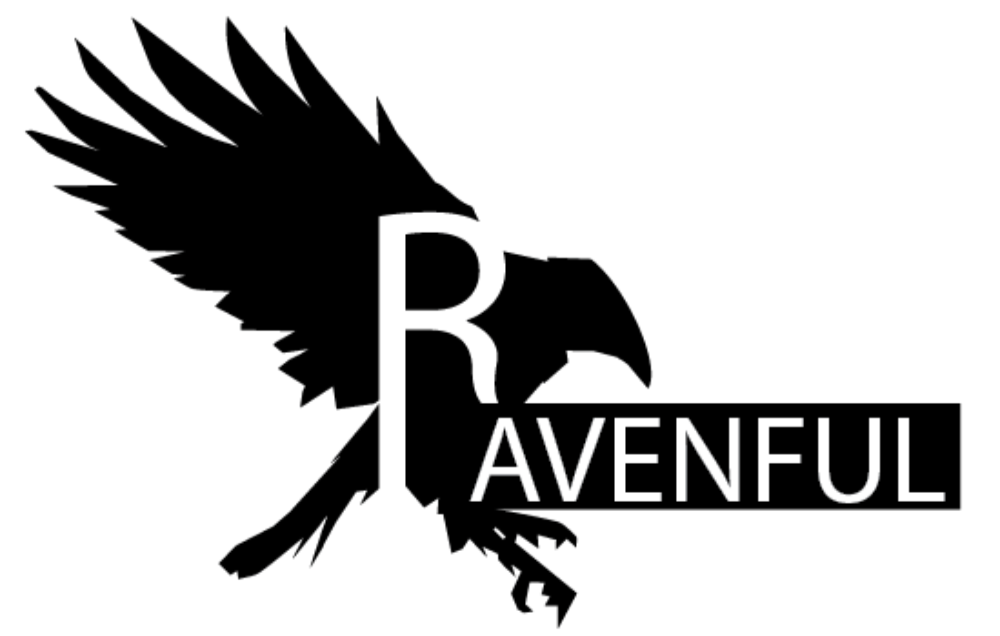 Ravenful Logo - white background