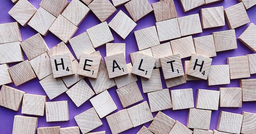 health wooden cubes