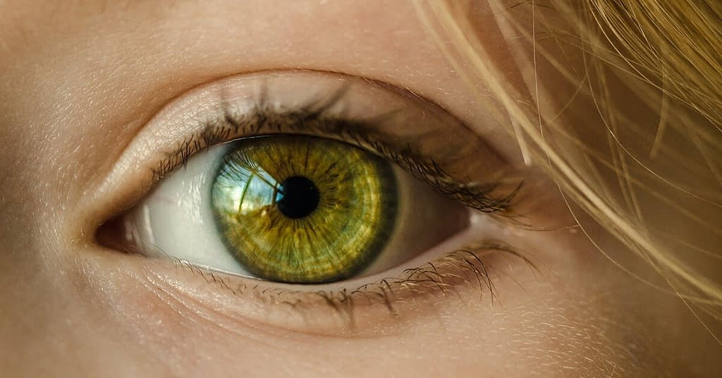 clear green eye - Why we must have faith in humanity