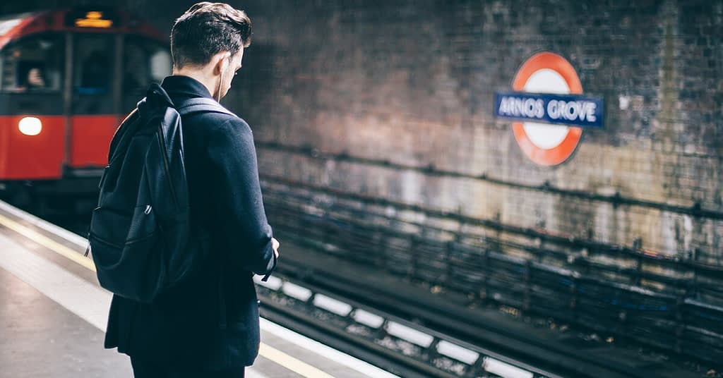 how to travel alone for the first time Metro station