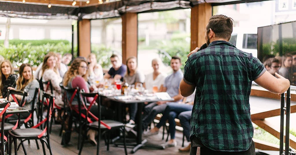 Engage with your audience-  attraction marketing