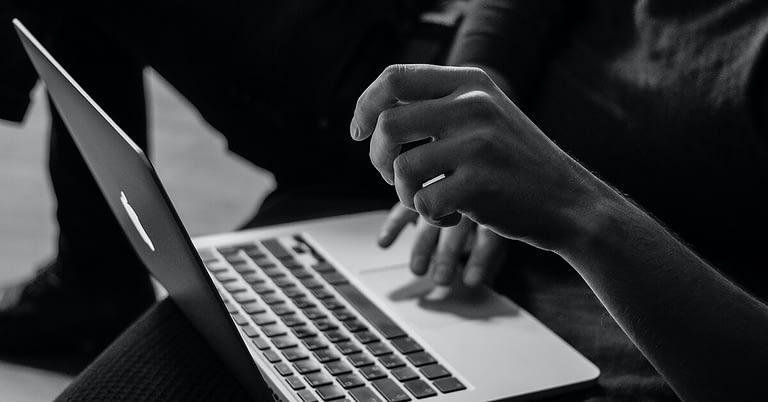 write blog post