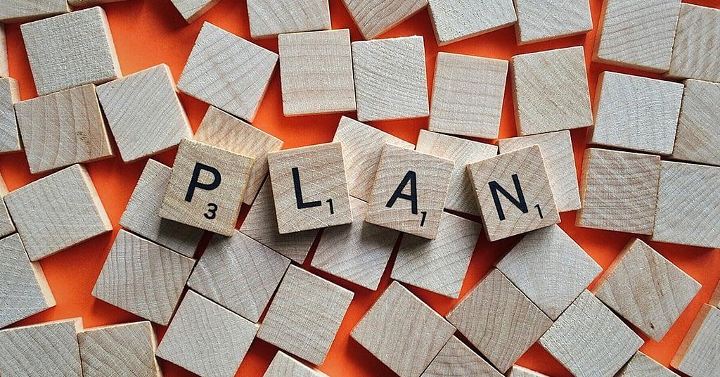 set up a plan to change bad habits