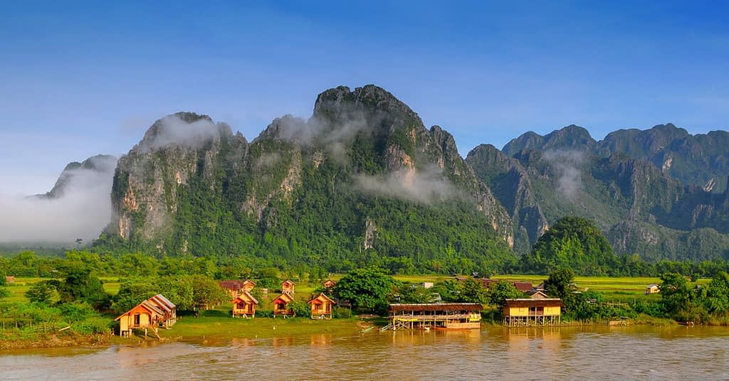 مدينة فان فيانغ في لاوس - أجمل مدن العالم