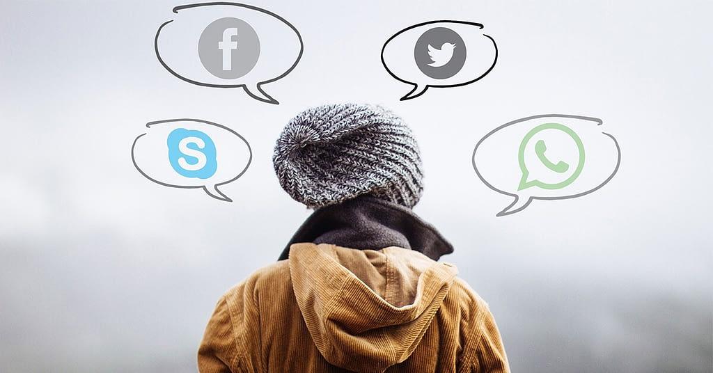 social media bubbles - كيف أعلم أن هذه العادة سيئة فعلاً